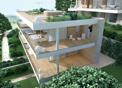 DALB30b New apartments under construction 2016 with Garda Lake view