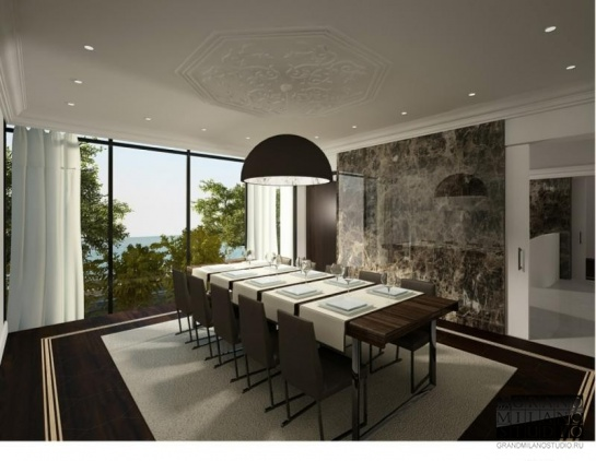 AIK 012 New panoramic view villa with a pool in Roquebrune-Cap-Martin