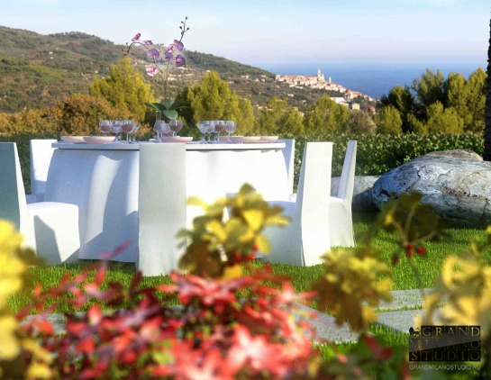 DIK257 San Bartolomeo al Mare. New luxury villa with pool!